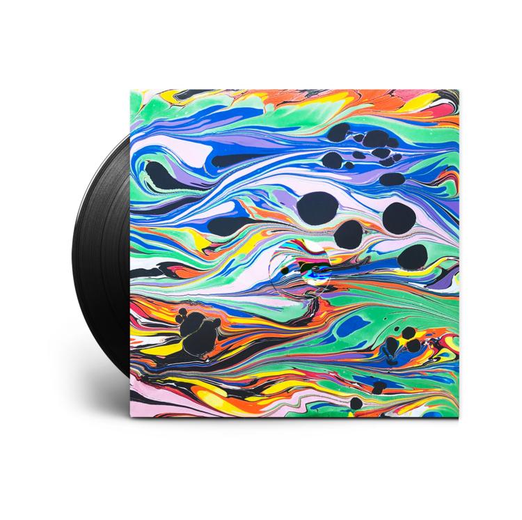Back Cover Album Art,  Ride Waves  by GRiZ, Self Released, U.S. (2019)