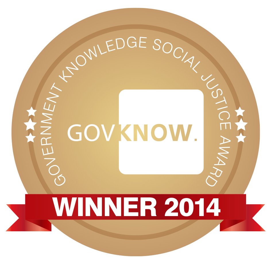 2014 GovKnow Social Justice Award - Winners
