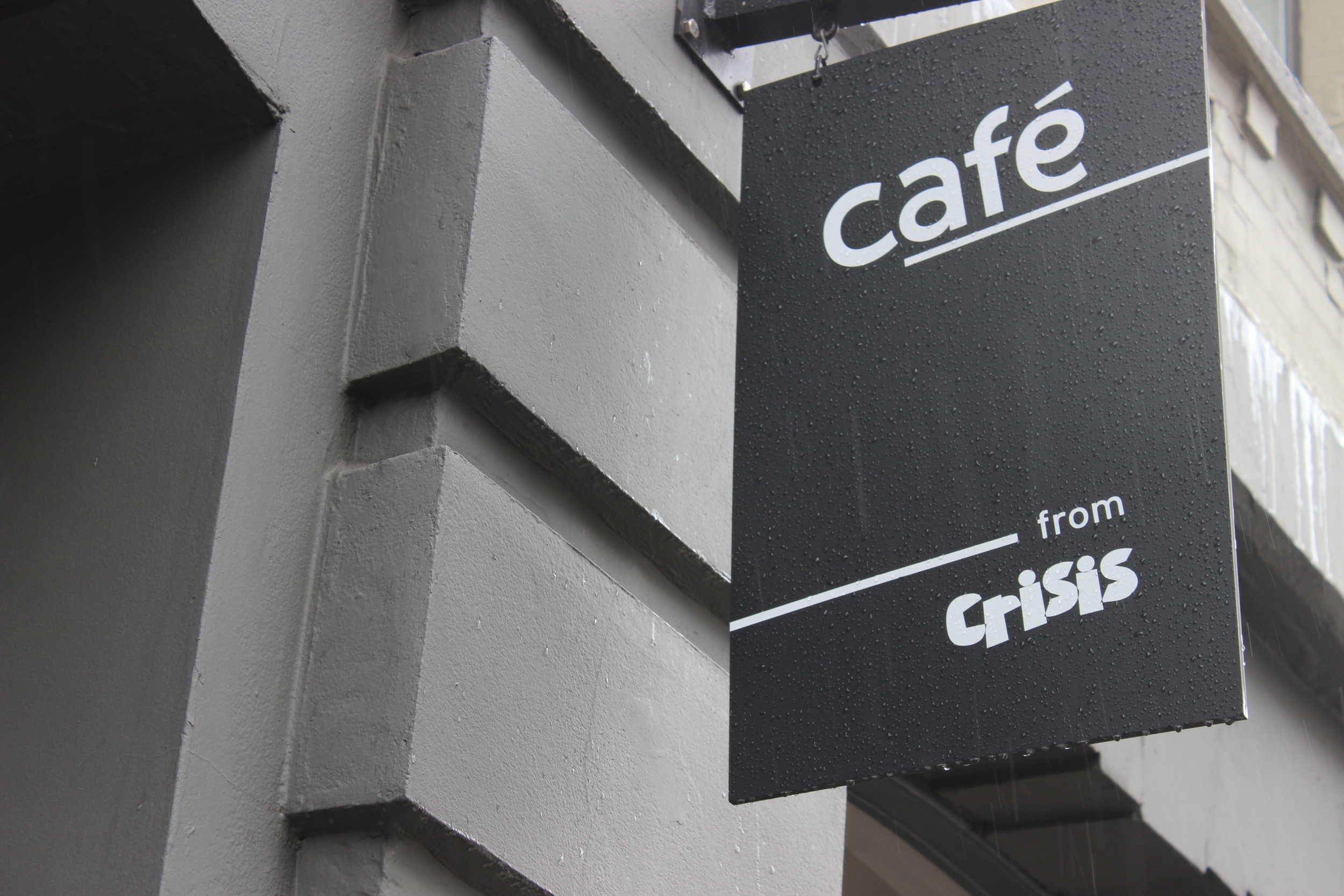 Crisis is a brilliant homelessness charity with a cafe which we supply some cakes too, definitely try them out!