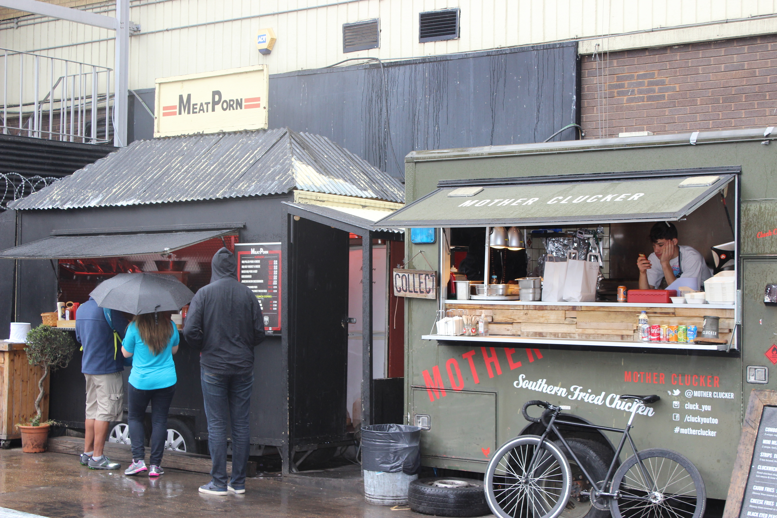 There are plenty of delicious street food options!