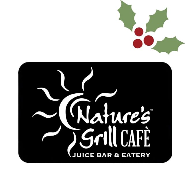 A gift everyone will love!!! A #giftcard from Nature's grill is the perfect #stockingstuffer!