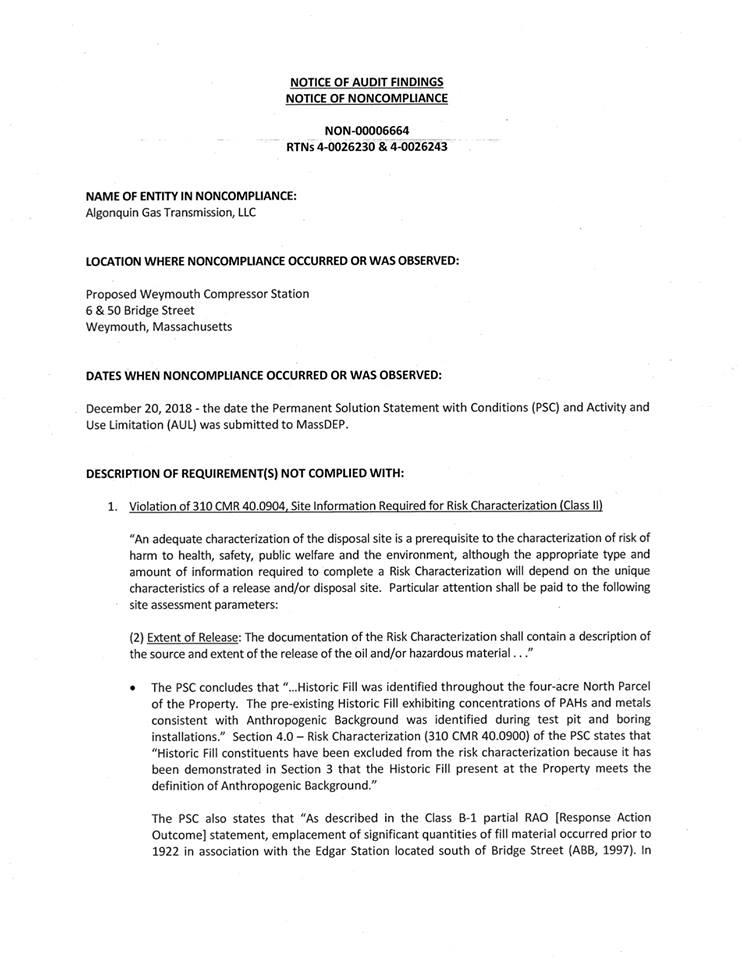 News — No Compressor Weymouth