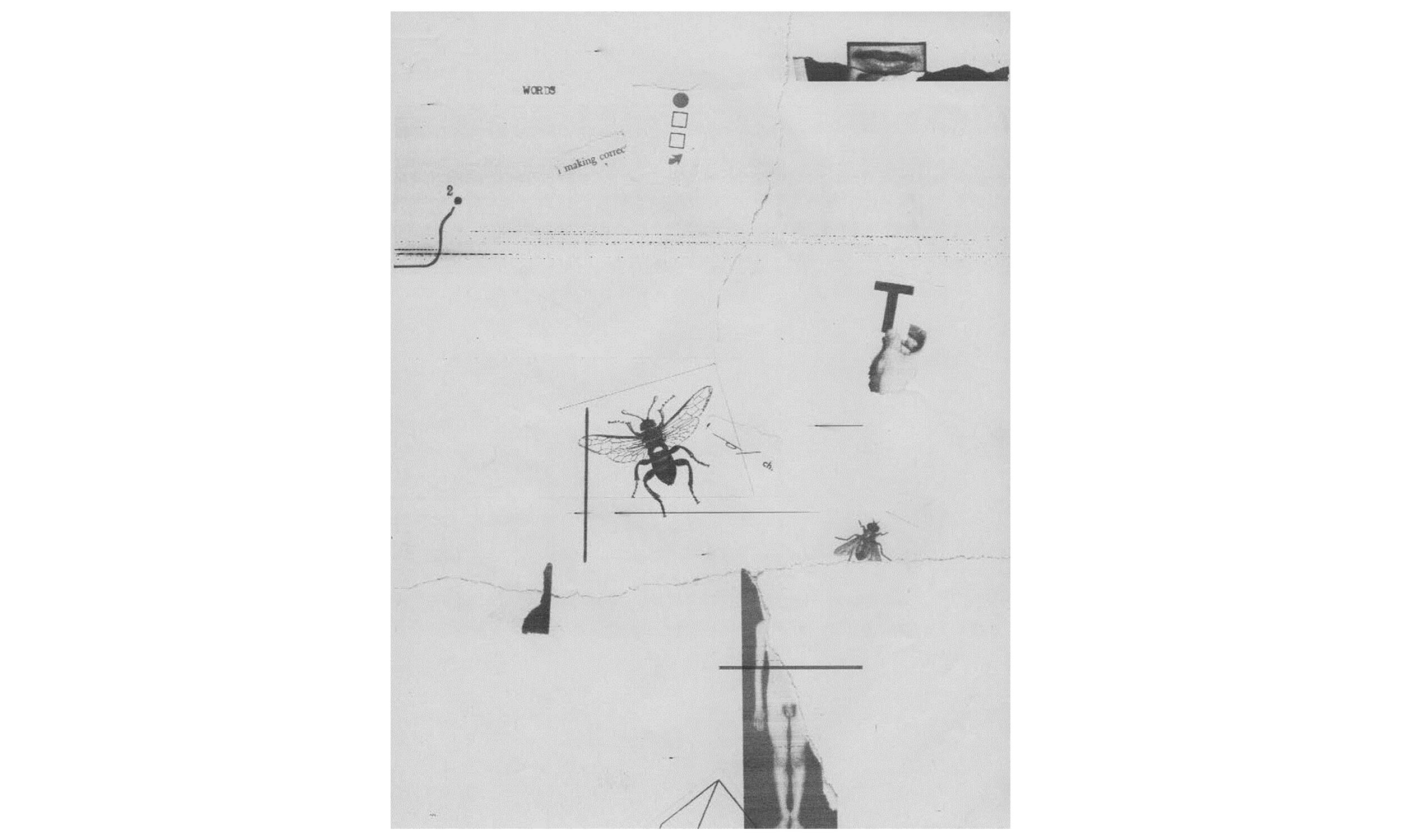 William Larson (American, b. 1942).  Untitled , September 22, 1975. Electro-carbon print with collage. 11 x 8 ½ in. (sheet). Carnegie Museum of Art, Pittsburgh; Director's Discretionary Fund, 2016.31.2. © William Larson. By permission.
