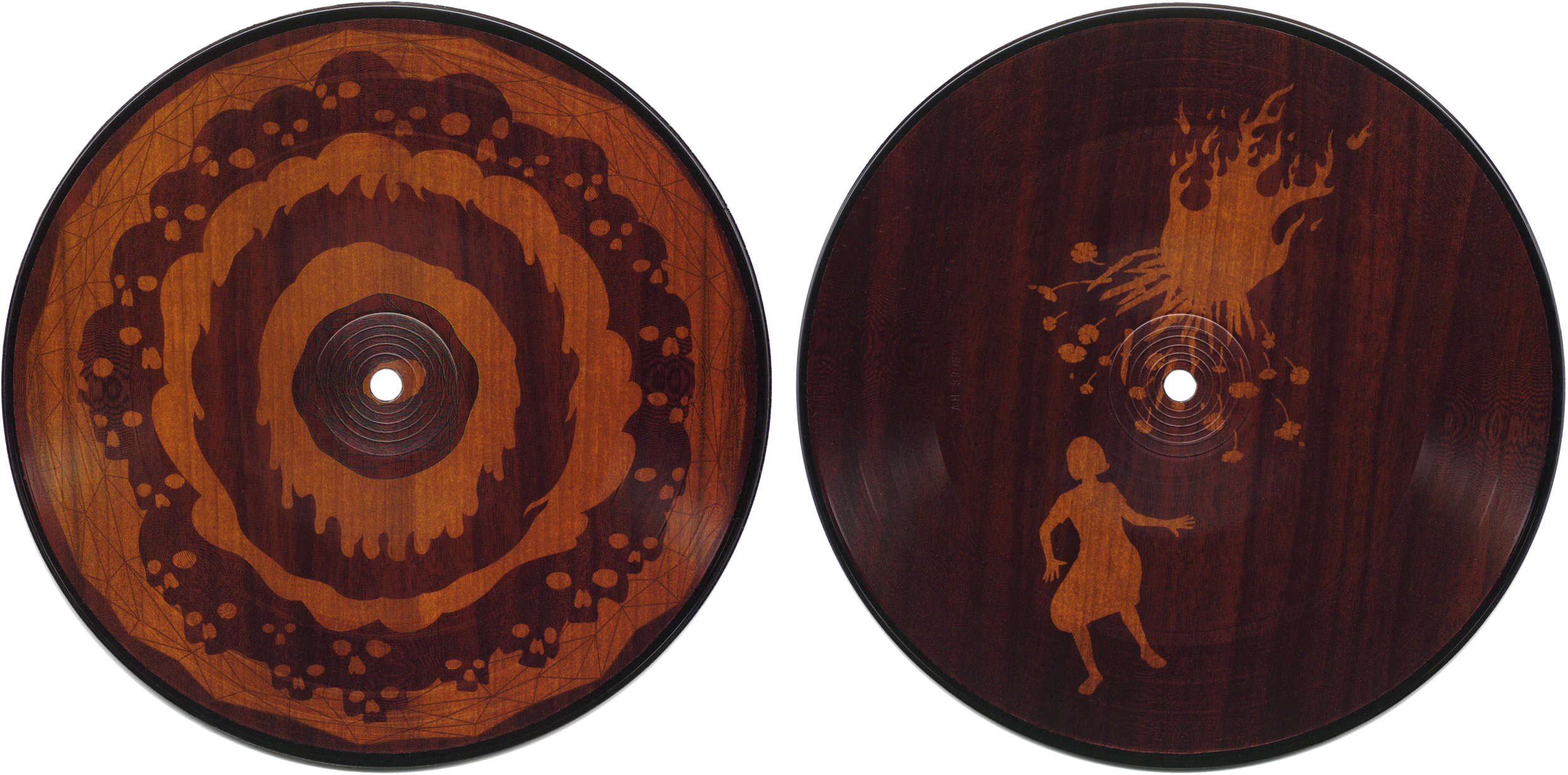 """Passion Pirates & Parasites . 7"""" picture disc released on  Synesthetic Recordings , 2002."""