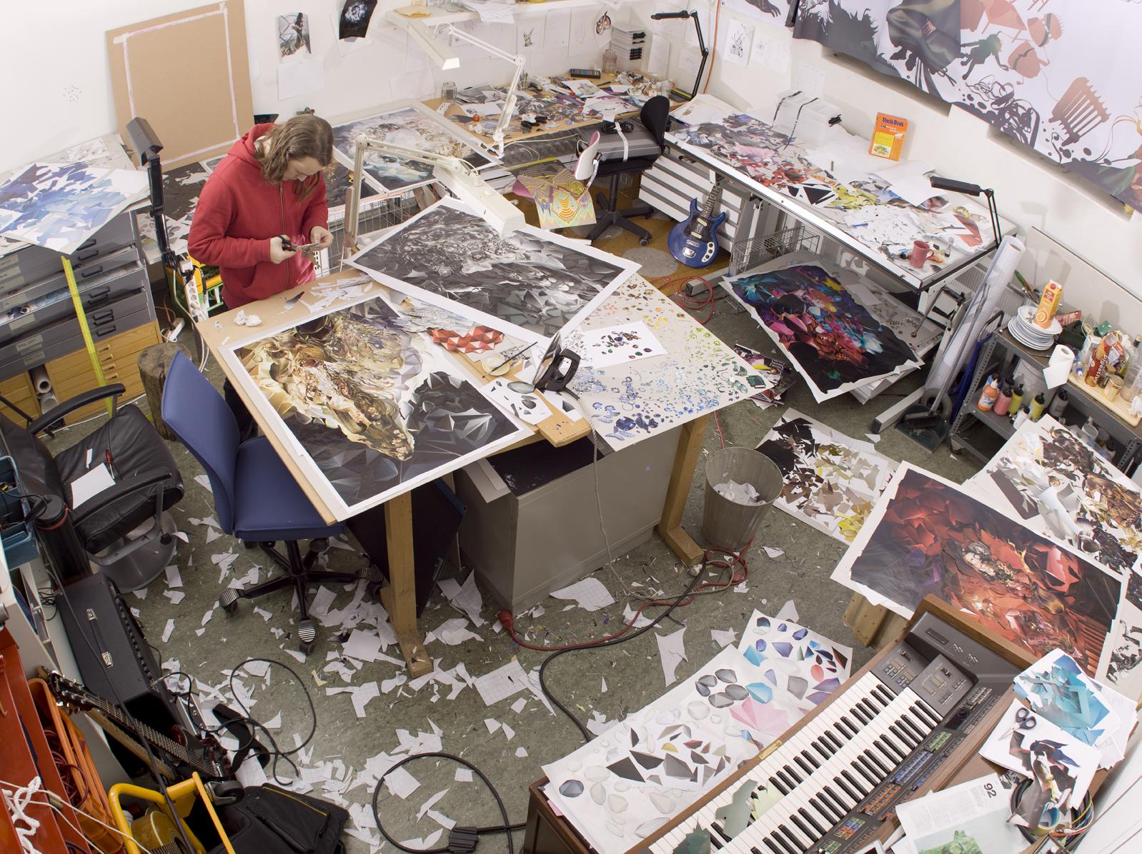 Studio view, 2007. Photo by  Pål Laukli .