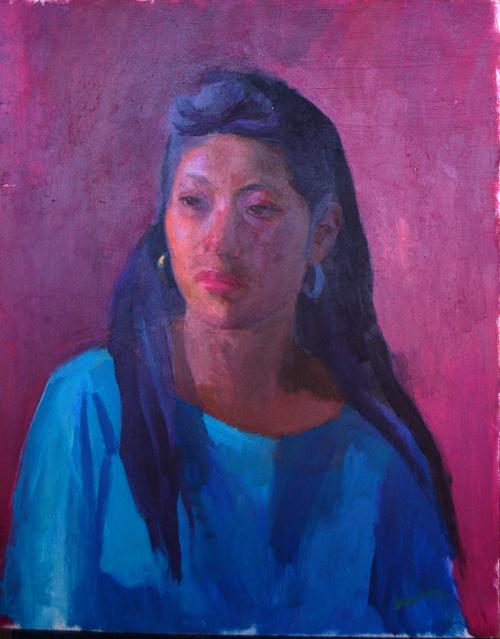 Taos Pueblo Woman