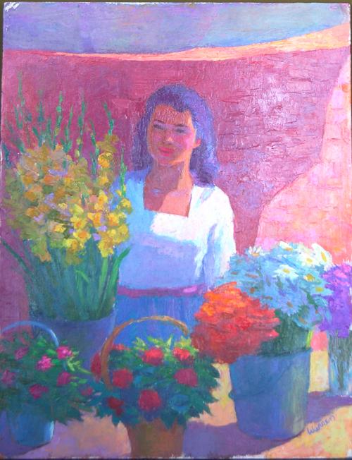 Ajijic Flower Market