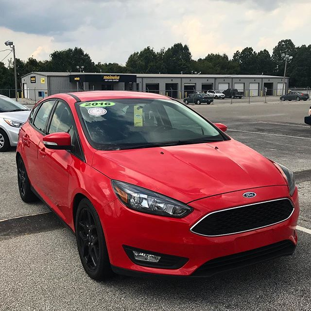 2016 Ford Focus. Call 479-303-7284 or visit www.rathauto.com