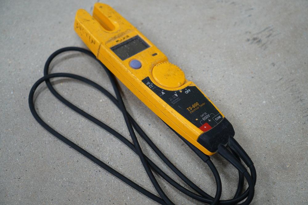 Fluke t5-600-Multimeter-Tester