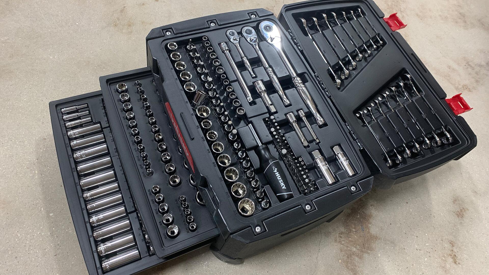 Electrician U Tool Review Husky 270 Piece Mechanic S Tool Set