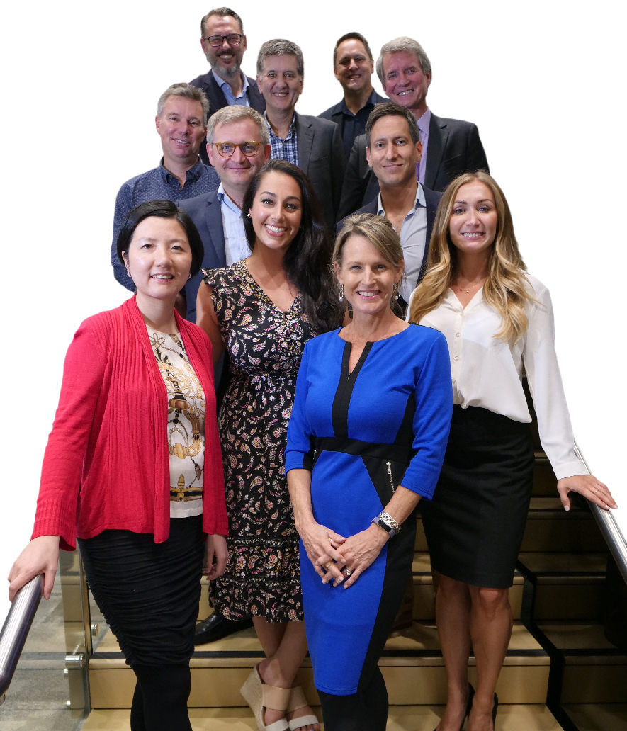 Mobilized for Melbourne: In September this team conducted a day of training and coaching on social media strategy and tactics. Pictured front to back - Yingdan Liu, Tricia Majors, Melissa Etezadi, Dina Dubinsky, Dimitri Schildmeijer, Steffen Thejll-Moller, Matthew Yeomans, Stephen Claney, Ray Thompson, Philippe Borremans, and Randy Sumner.