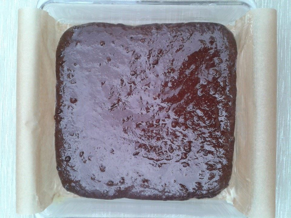 double choco almond flour brownie mix ready for oven.jpg