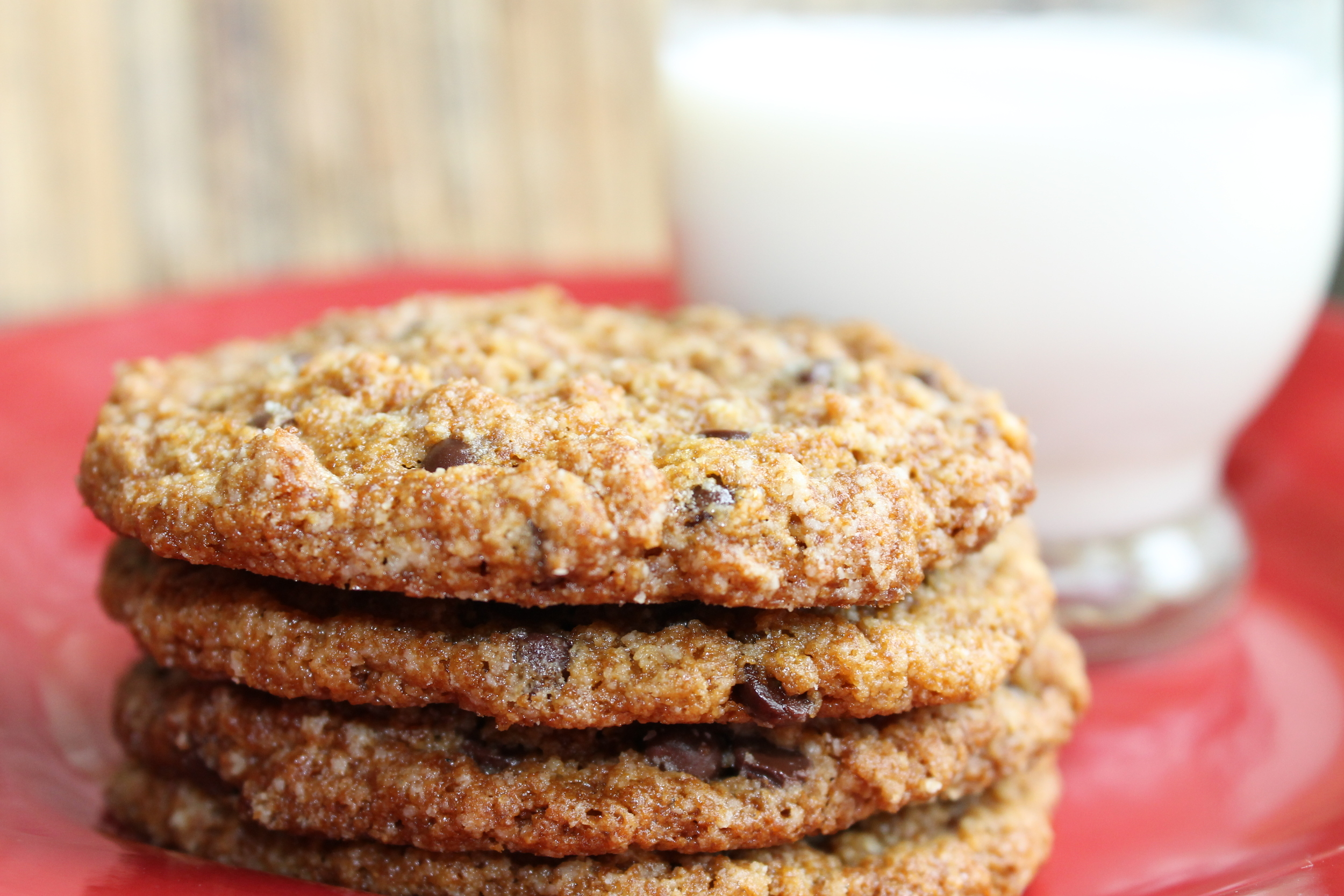browned butter choc chip cookies with milk.jpg