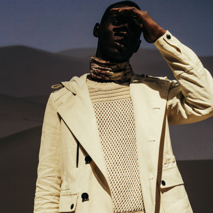LCM: Belstaff SS16Wonderland Magazine - Belstaff take us off the beaten track with their SS16 collection of tanned leather, sandy beiges and water flasks.