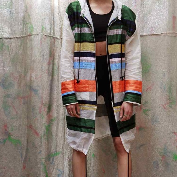 LCM: Joseph Turvey SS16Wonderland Magazine - We take a glimpse into Joseph Turvey's world of sport stripes, rainbow palettes and notebook illustrations.