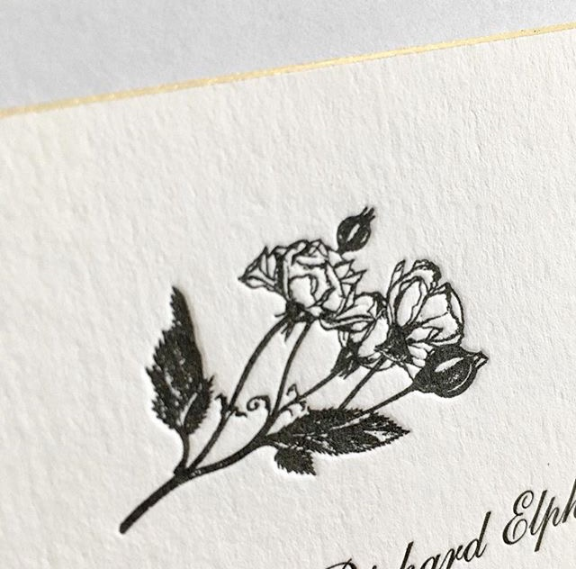 Drawings for wedding stationery that can be used throughout the wedding are a great way to personalise your wedding.