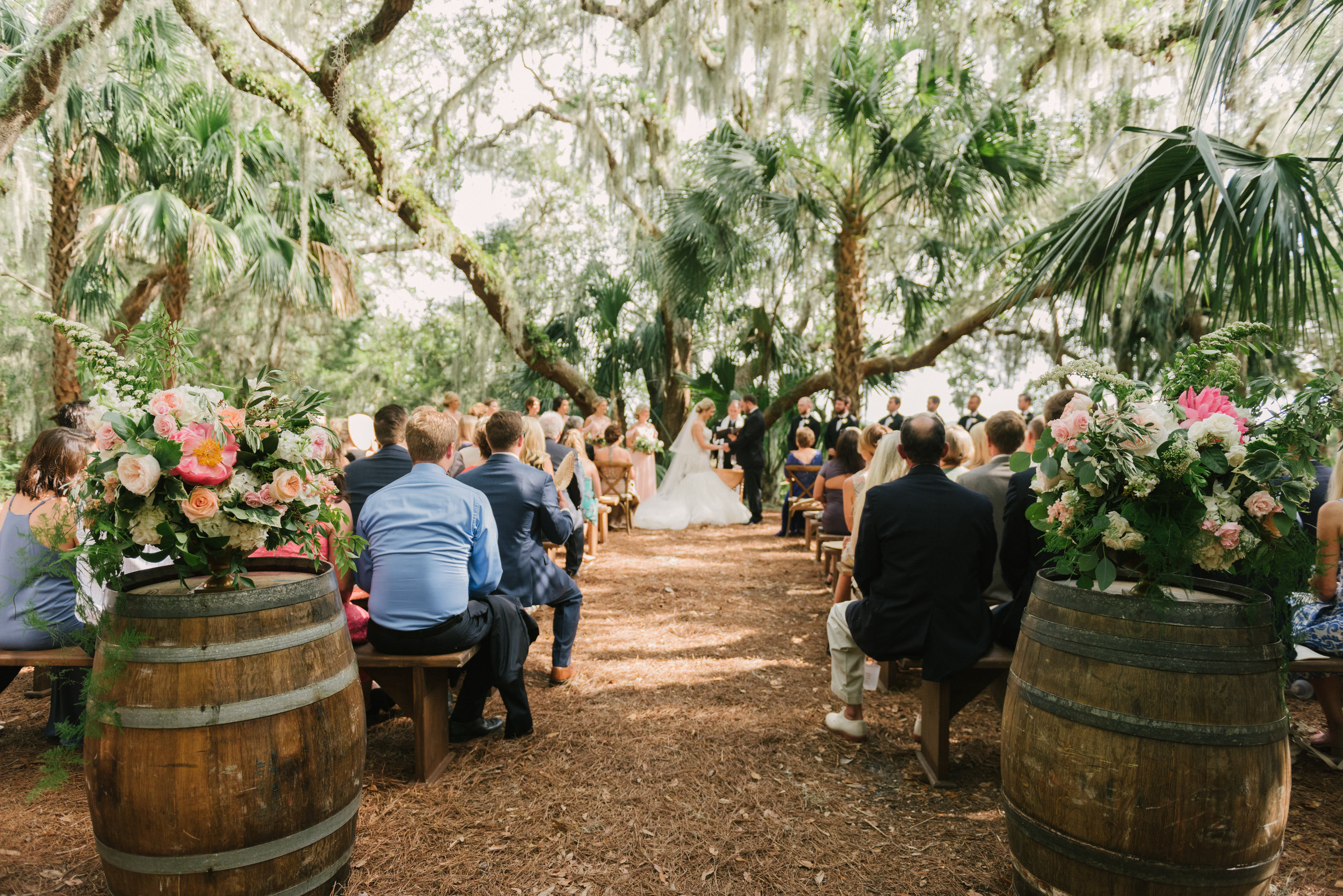 Rustic Modern Amelia Island Destination Wedding