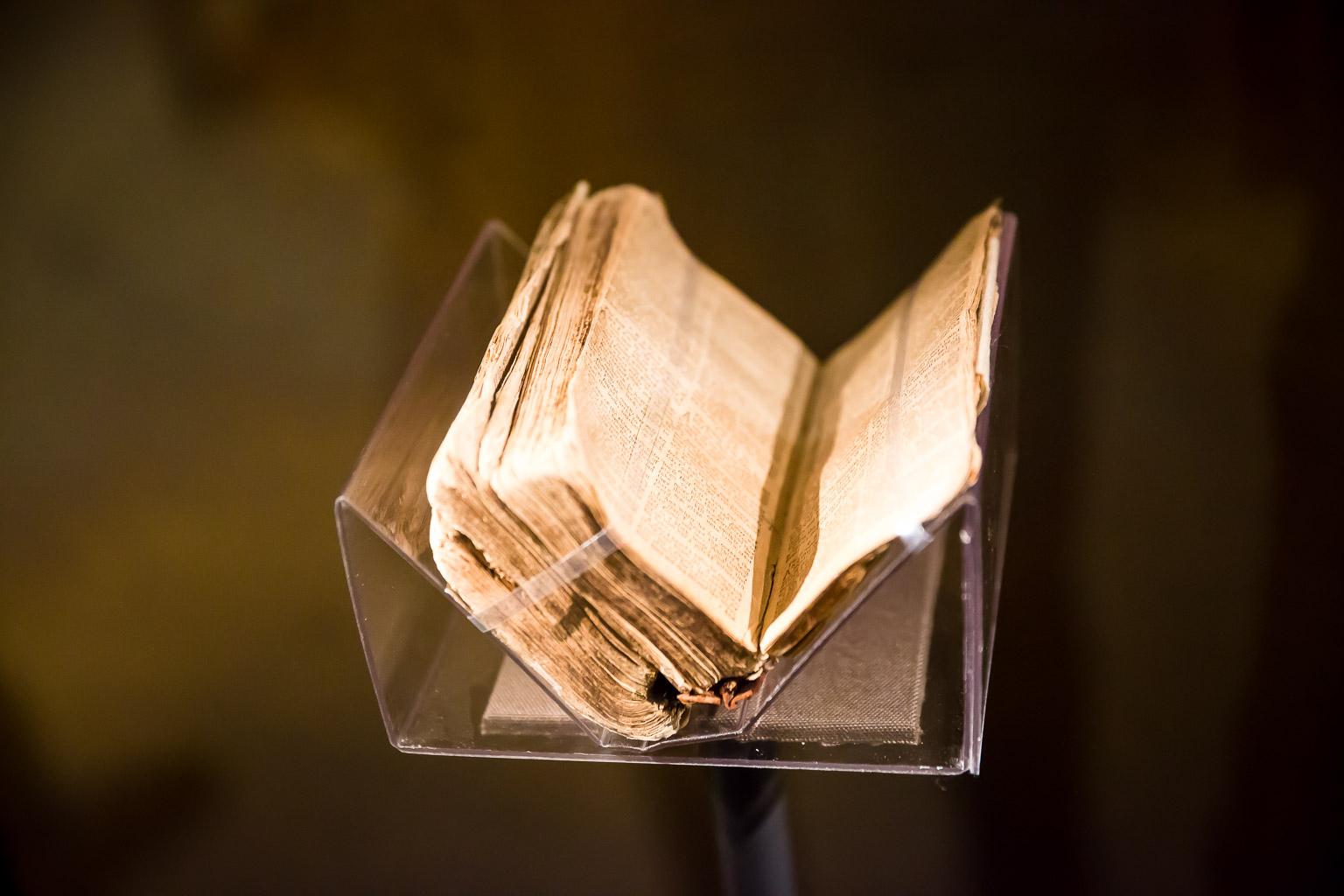 Nat Turner's bible.