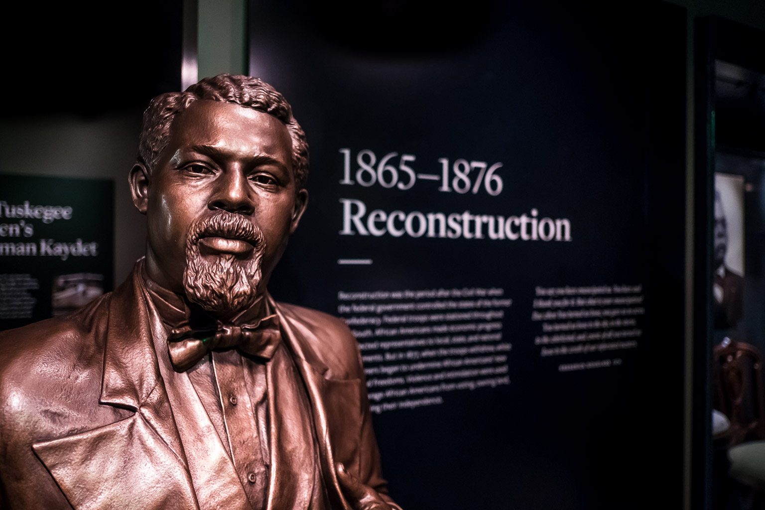 Robert Smalls. He began his life enslaved and willed himself to become a U.S. Congressman. Remember him the next time you think something you're facing is too hard to do.