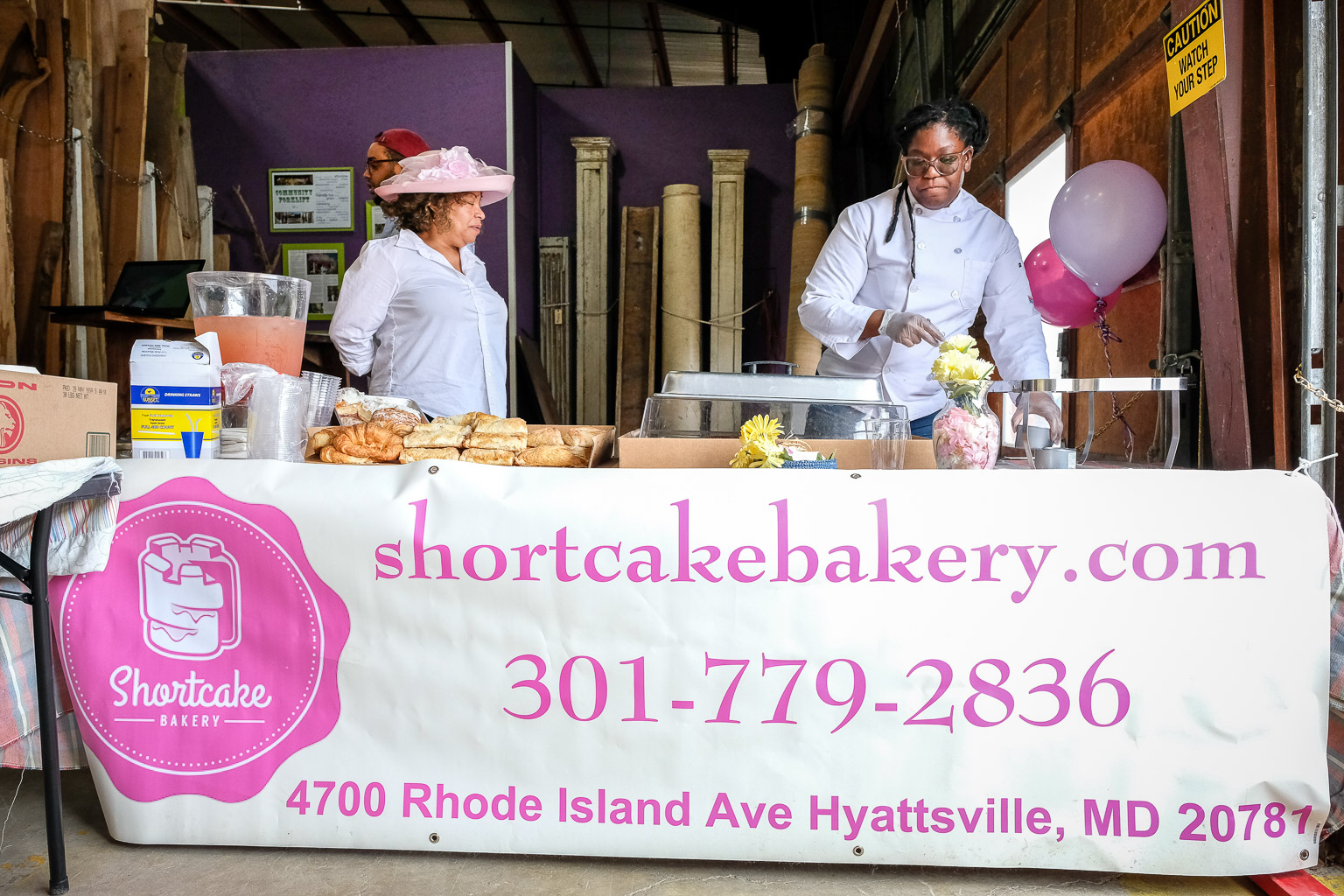 Betcha can't eat just one! I'll put a  link to their website here  for convenience, but you really need to just go visit these ladies and let the aroma of those pastries send you to your happy place.
