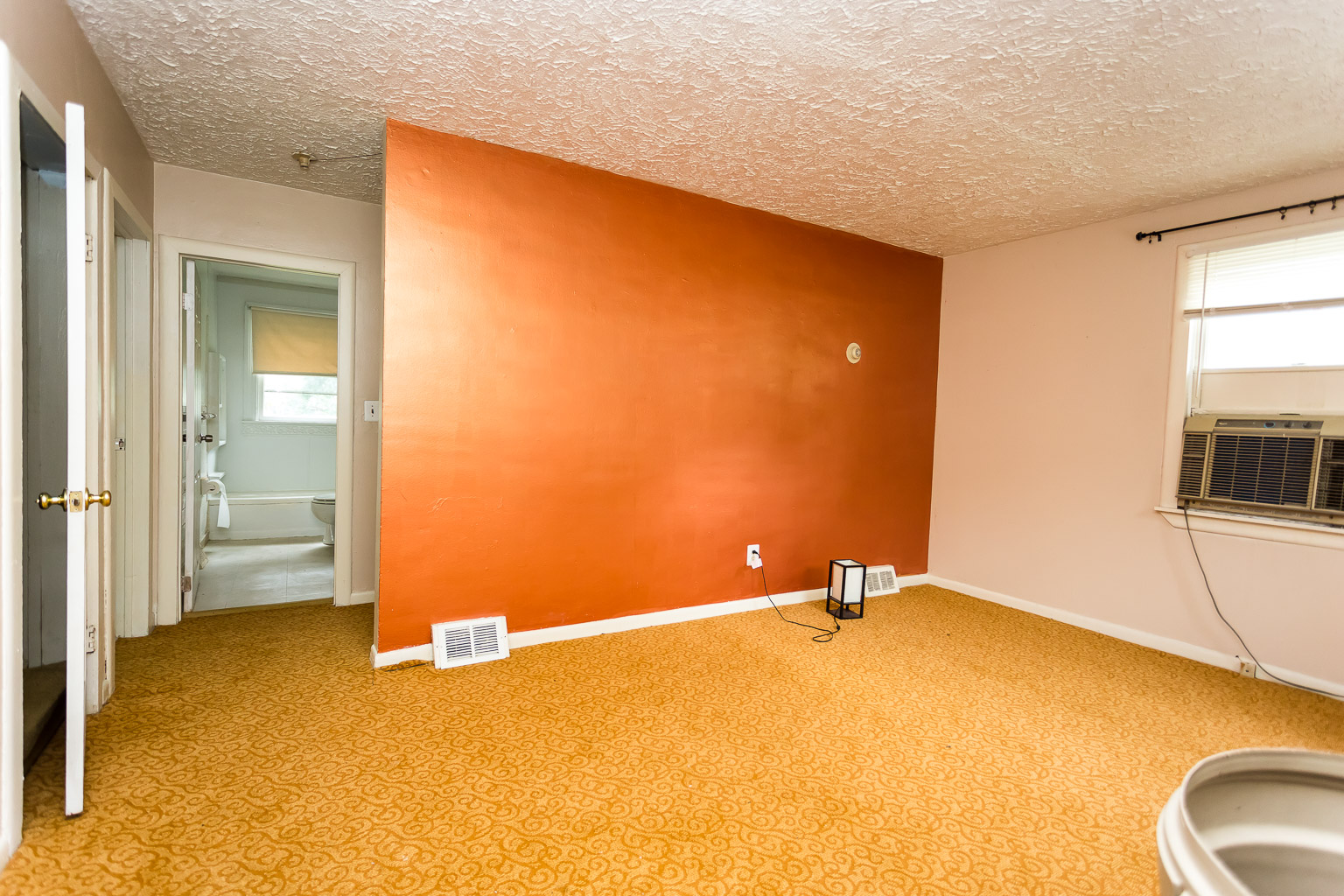 This is the before picture of the living room.