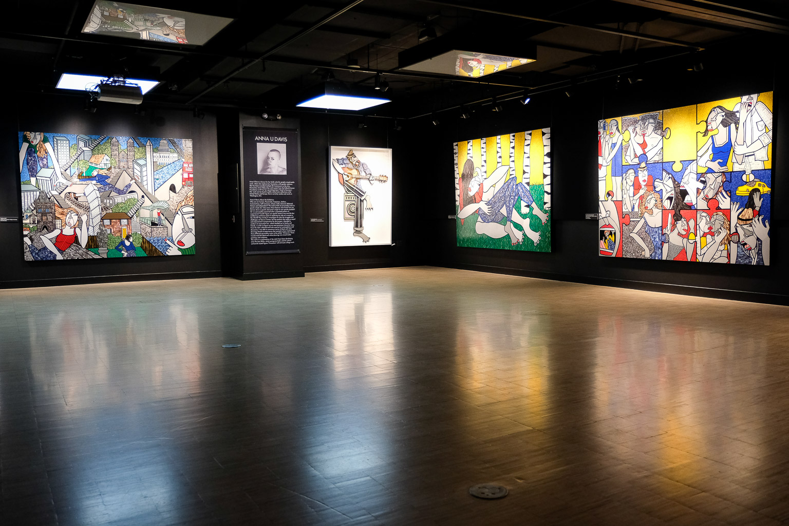 Click here to see the companion post  featuring the entire exhibit.