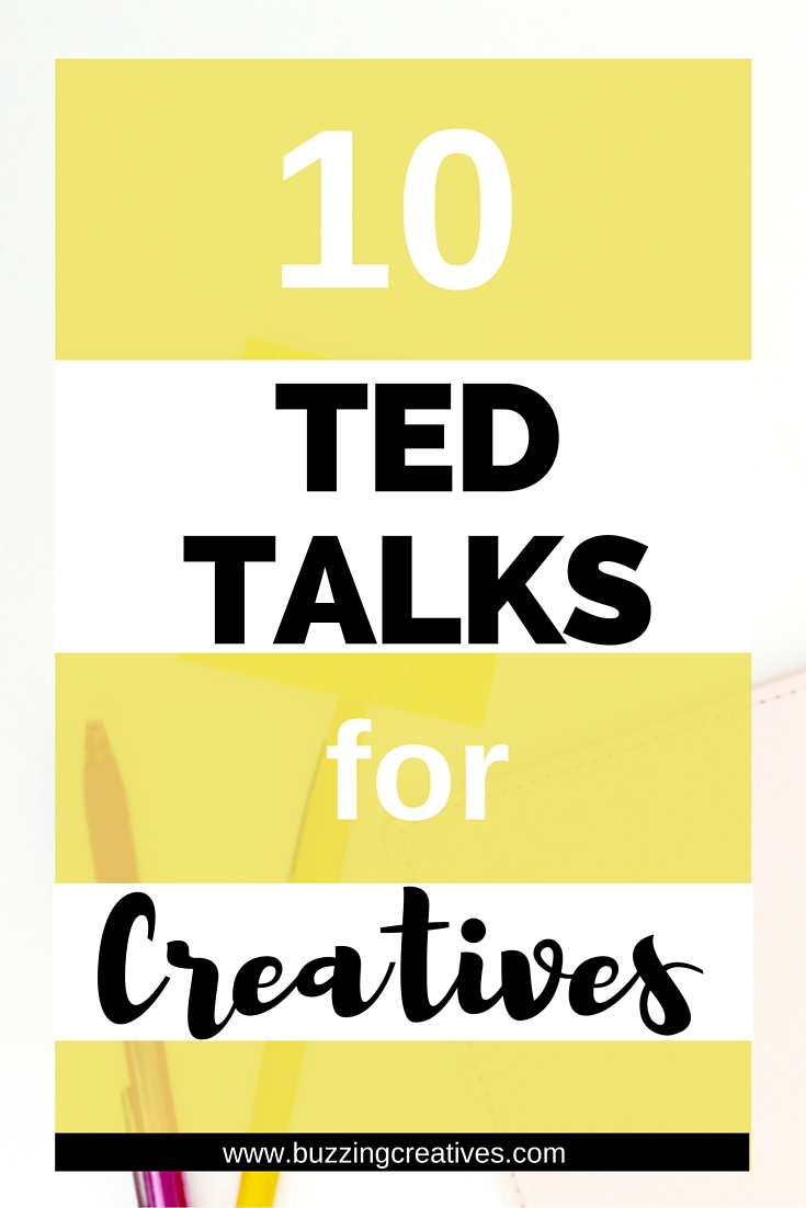 10 Ted Talks for Creatives