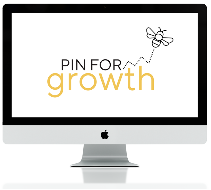 Join Pin for Growth to learn how to successfully use Pinterest for your online business