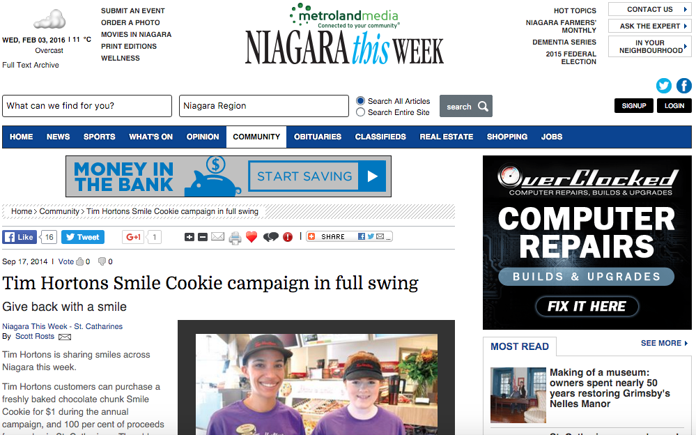 Niagara - Smile Cookie Press