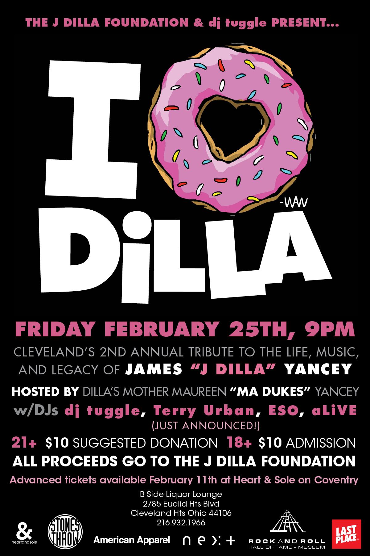 2nd Annual J Dilla Tribute & Fundraiser