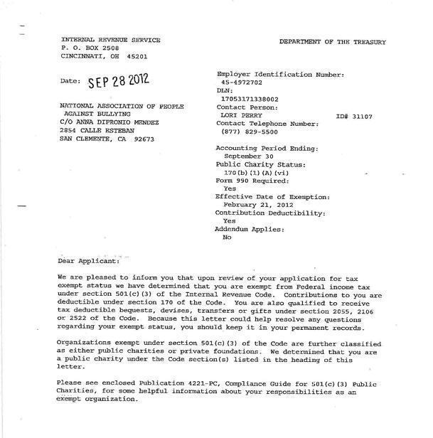 501c3 Information