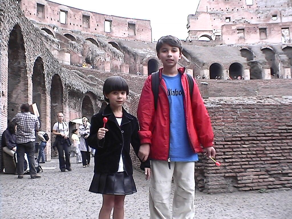 Daniel and V colliseum.jpeg