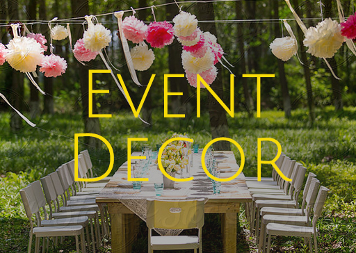 Custom Event Decorations Planner