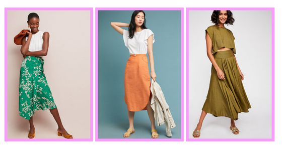 midi skirt trend fall fashion
