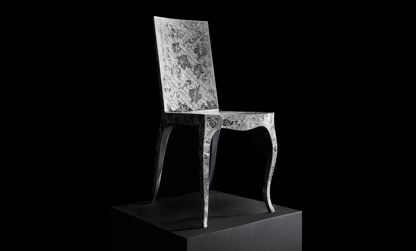 Silver Chair,  Christofle.