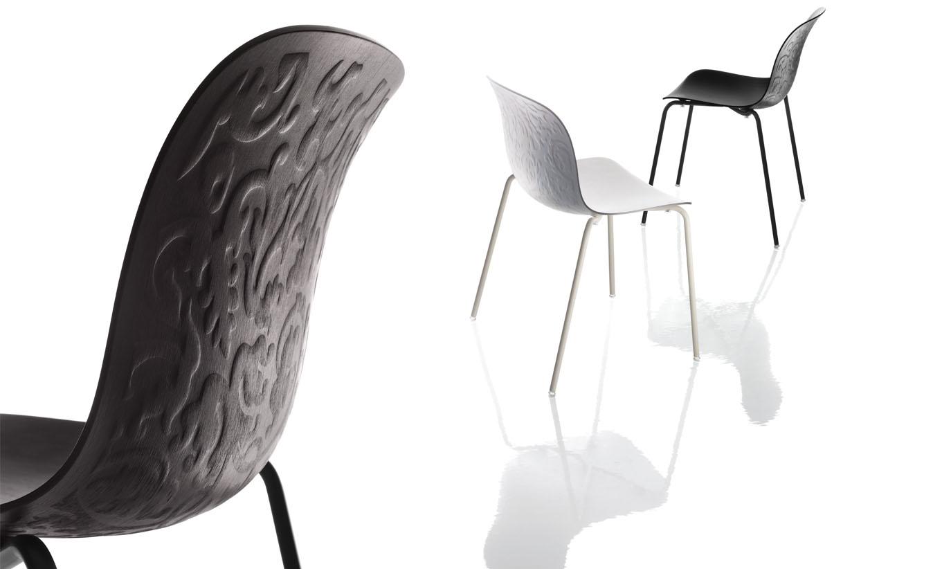 Troy, chair collection,     Magis.