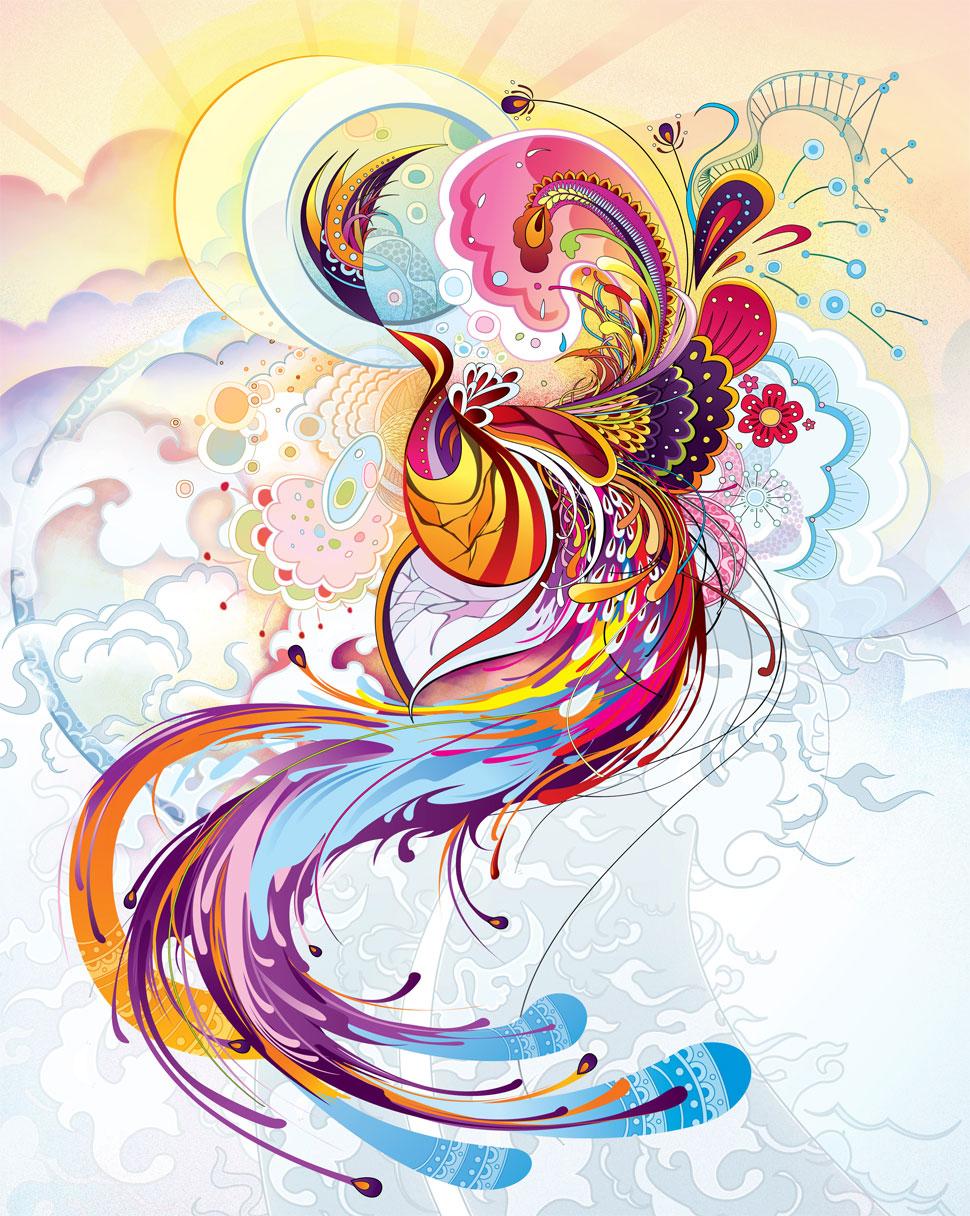 By ndesign-studio.com Phoenix Rising, baby. Phoenix Rising.