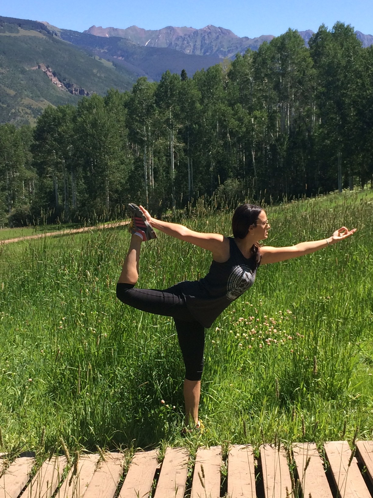 A lil' Spiritual Gangster action on Vail Mtn.