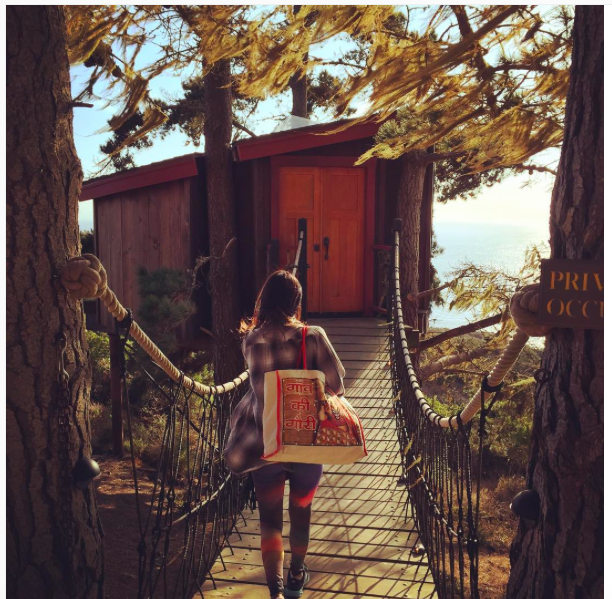That time I shacked up in a treehouse. @treebonesresort in #BigSur