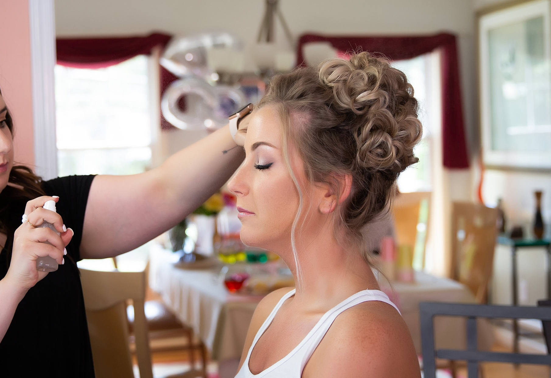 New Haven Wedding Makeup | Photo by Netmartin Photography