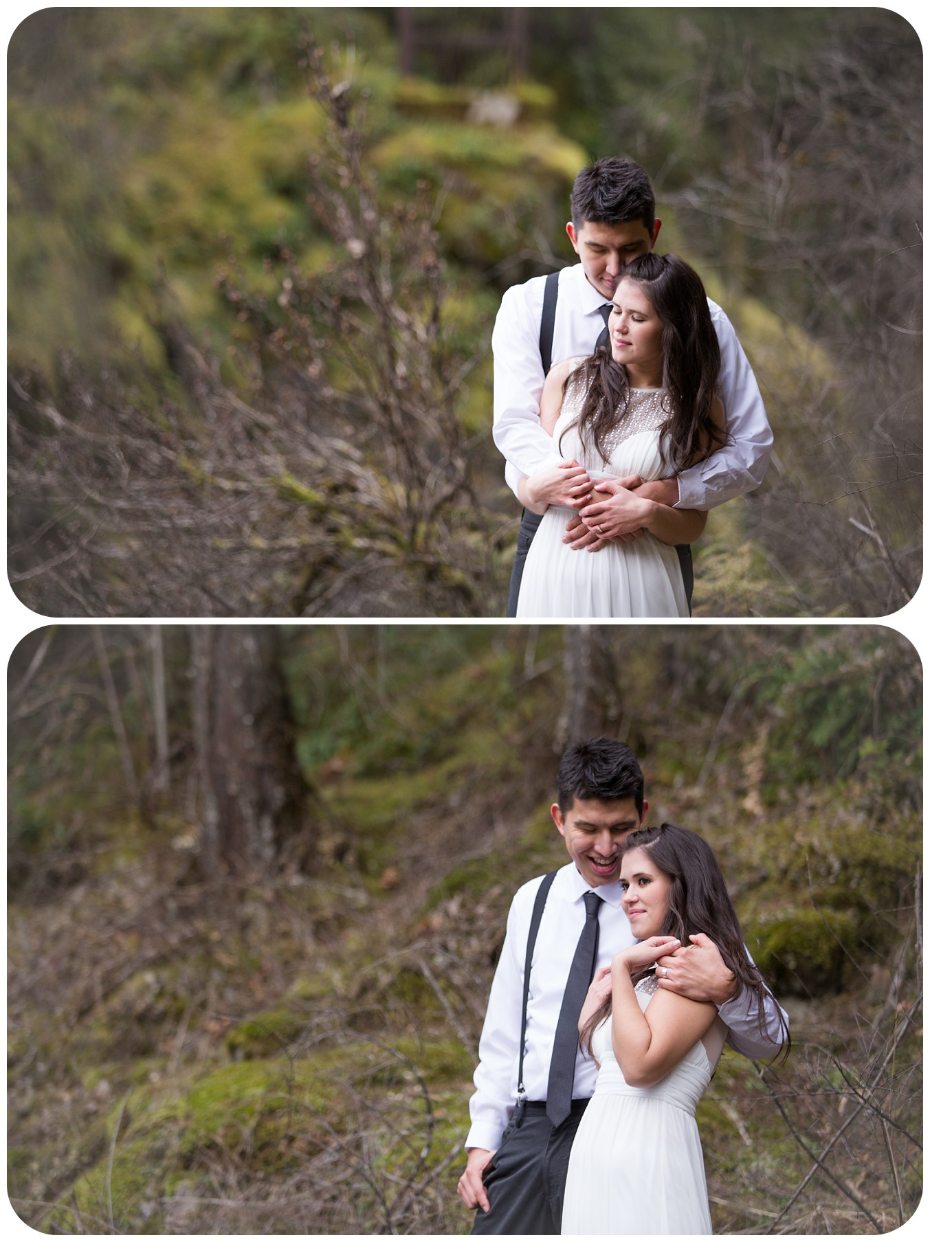 intimate wedding photos, landscape wedding photos, rustic forest wedding photographer, rustic parksville bc wedding photographer