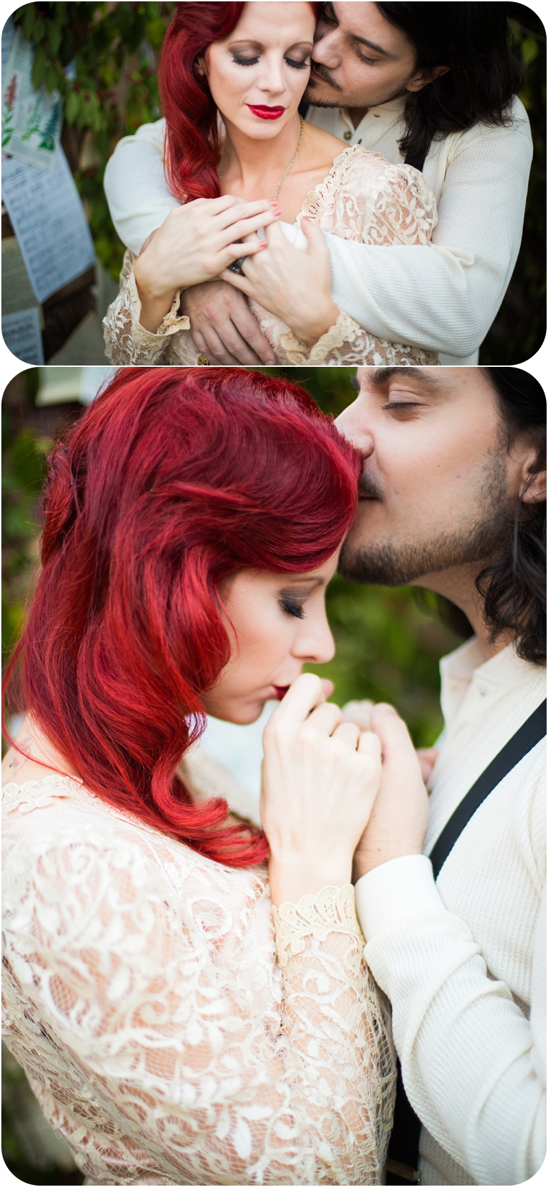 romantic wedding portraits moulin rouge inspired