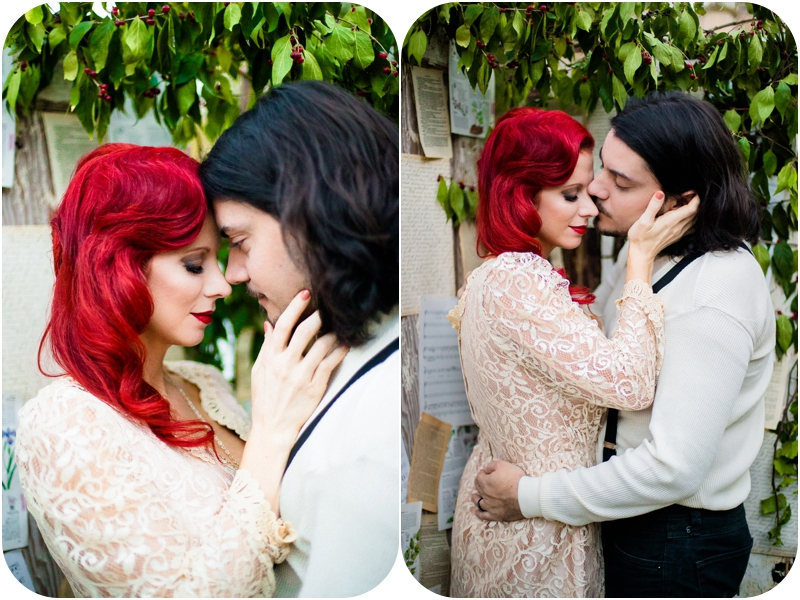 best vancouver island wedding photographer, moulin rouge inspired elopement