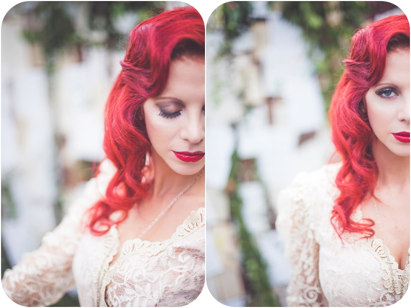 moulin rouge inspired elopement bridal portrait