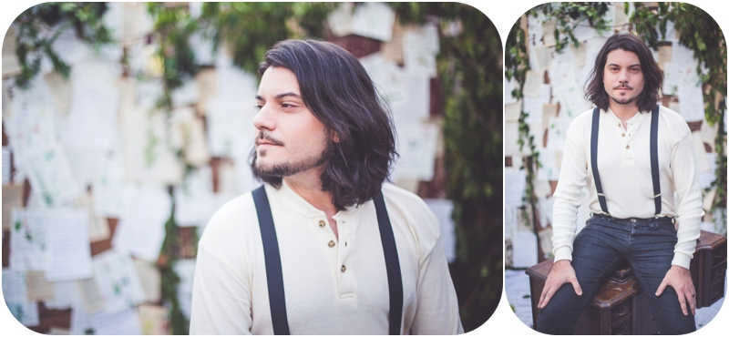 groom portraits at vancouver island elopement
