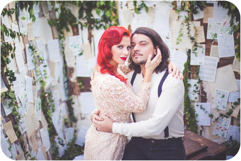 moulin rouge inspired wedding vancouver island