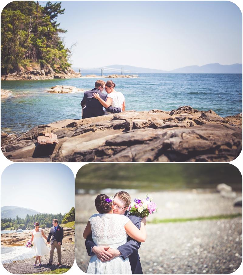 romantic couples portraits at beachside b&b wedding venue