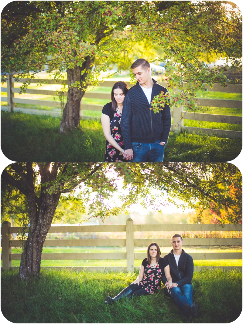 golden hour in qualicum beach for heather hutchison couples portarits