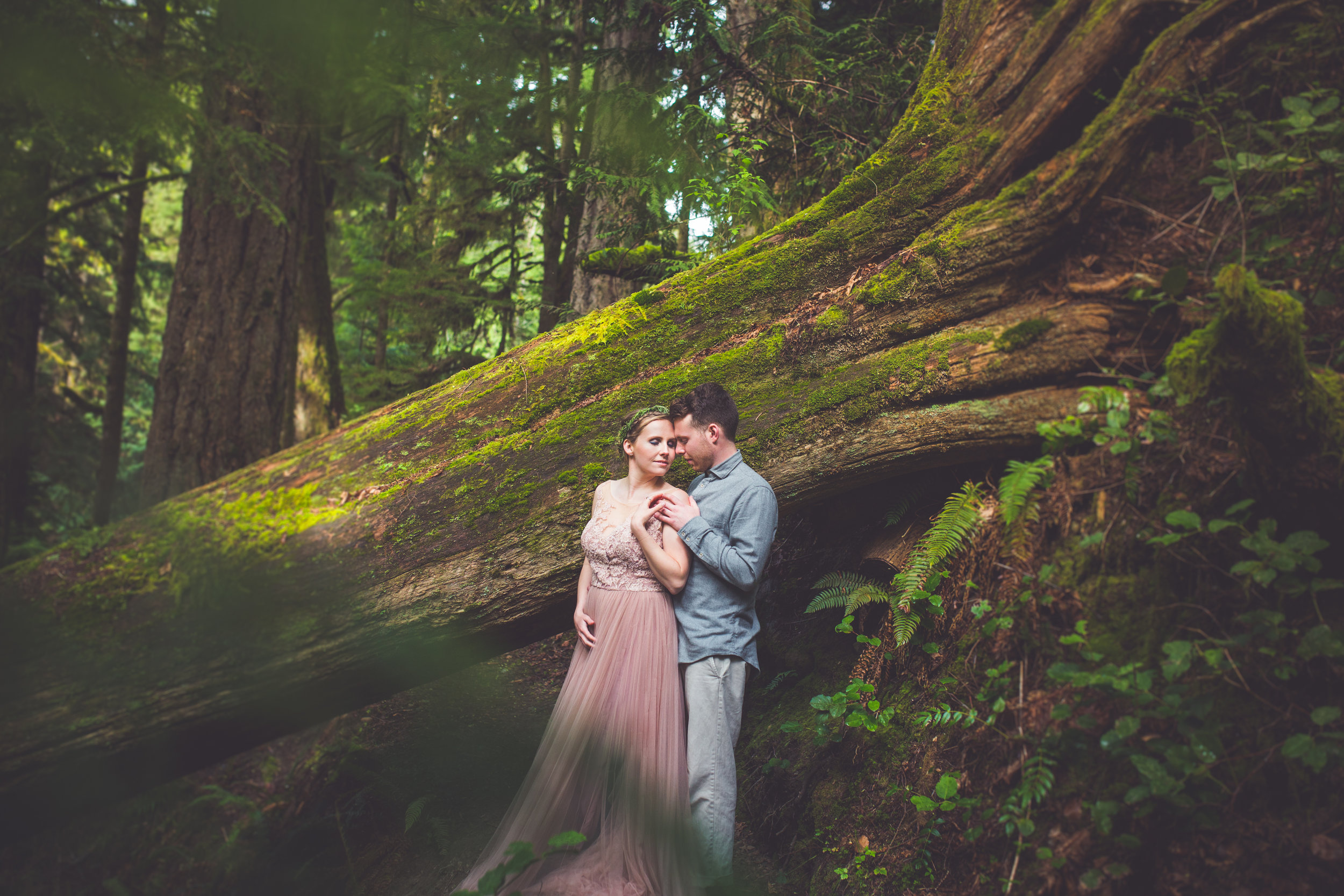 Whimsical Wedding Photographer Vancouver Island BC