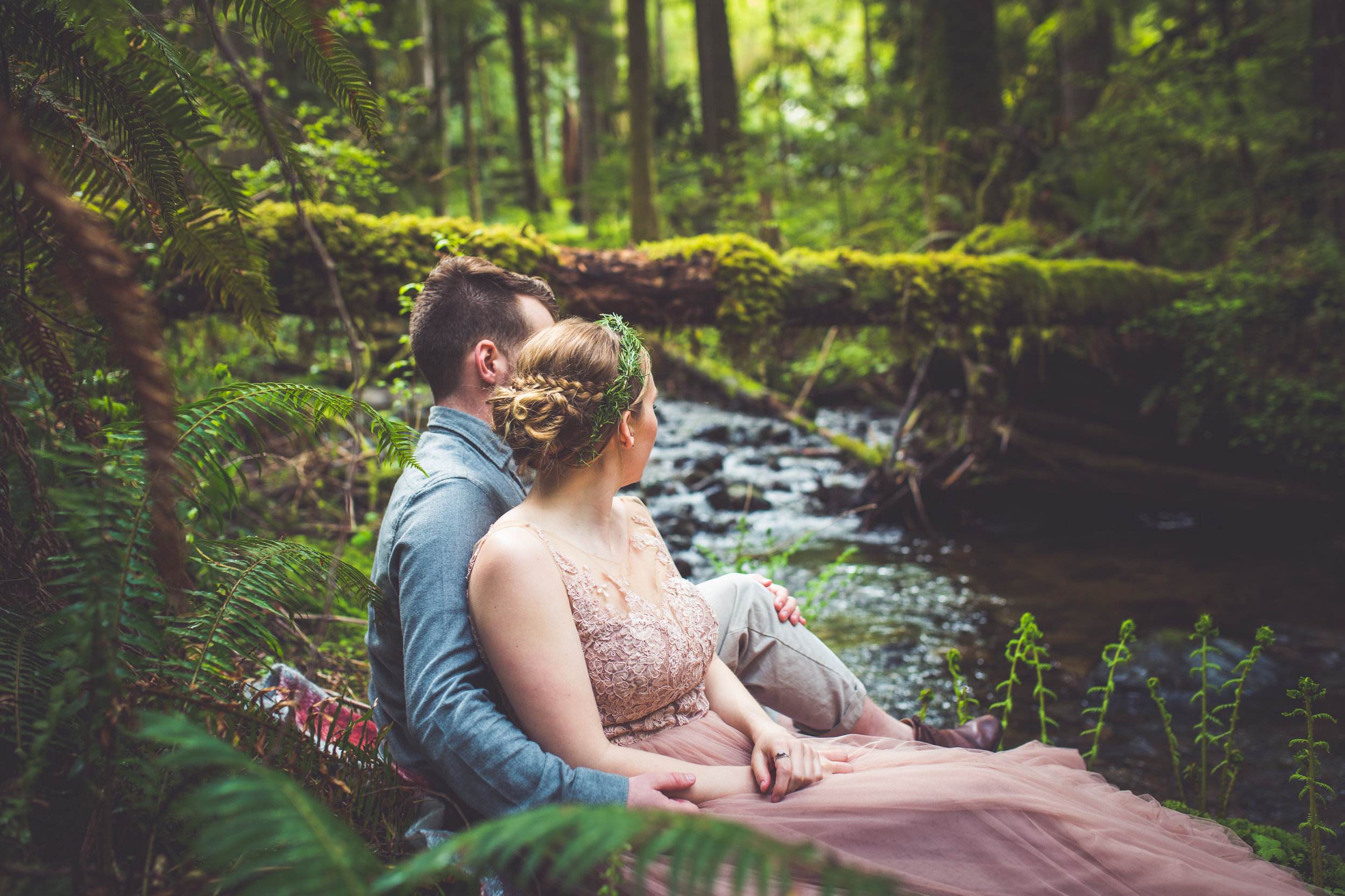 Rivers Edge Wedding Vancouver Island